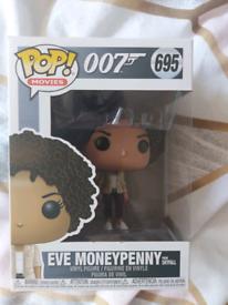 Brand new funko pop 007 eve Moneypenny