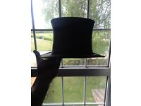 Lock & co collapsible theatre hat .top hat