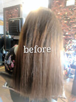 Hair Straightening Holder + Keratin Treatment Only $210