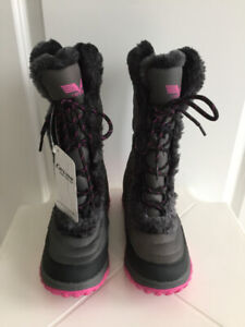 Cevas Winter girls ski shoes water-resistant / snow boot size 4