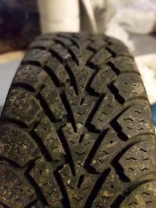Winter Tires 185/65R14 Nordic Winter w/ Rims