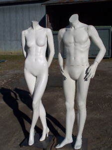 Mannequins and Bust-forms