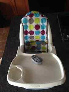 first years delux feeding chair
