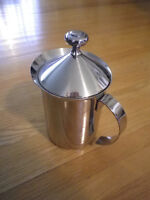 Stainless Steel Milk Frother Cappuccino Coffee Pump