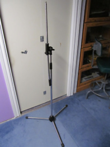 Vintage Microphone Stand and 20 foot cable.