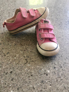 Kids Pink Converse All Star Size 9