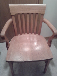 Antique wide office chair