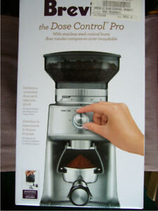 NEW Quality BREVILLE WHOLE Coffee BEAN GRINDER