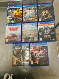 PS4 Game Bundle £90 ono