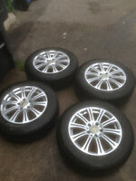 BMW X3 WINTER SNOW TIRE PACKAGE GREAT SET LIKE NEW