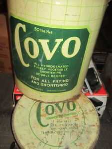 Cool old Tin Covo Vegetable Oil Can. Clean, original Condition. Oakville / Halton Region Toronto (GTA) image 6