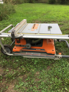 Ridgid Table Saw with Workstand