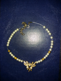 Pearl with pendant necklace