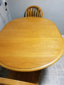 Table and 4 Chairs, need gone!