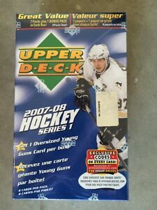 BLASTER ... 2007-08 UPPER DECK Series 1 ... possible CAREY PRICE