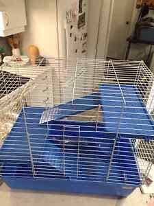 Cage pour rongeur. Lapin, furet, chinchilla  cochon d'inde neuve