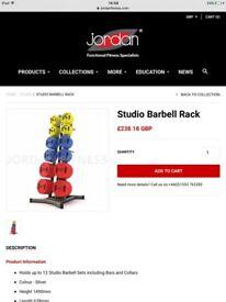 Jordan studio barbell rack