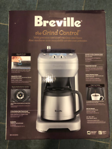 "Breville ""The Grind Control Drip"" Coffee Maker - Brand New"