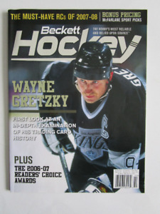 WAYNE GRETZKY. 2007. BECKETT HOCKEY.   (voir infos /photos).