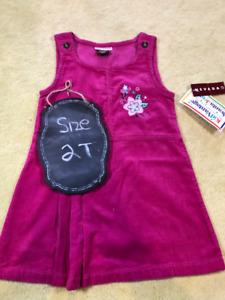 Nevada Girls Pink Jumper Dress - NWT - 2T