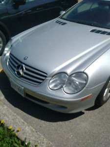 2003 SL 500 with limited red interior