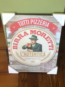 Birra Moretti Poster - BRAND NEW - Ready to hang
