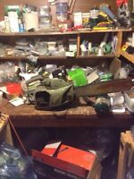 Vintage pioneer 550 chainsaw