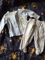 Nb to 0-3 months baby boy clothes