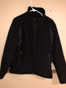 Calvin Klein water resistant breathable shell wind protection