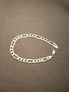 New sterling silver bracelet made in Italy