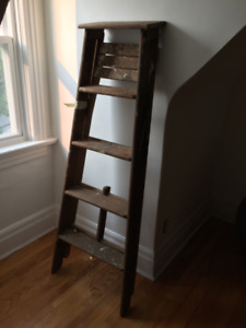 Vintage Decorate Ladder