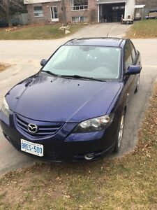 2006 Mazda 3 with snow tires