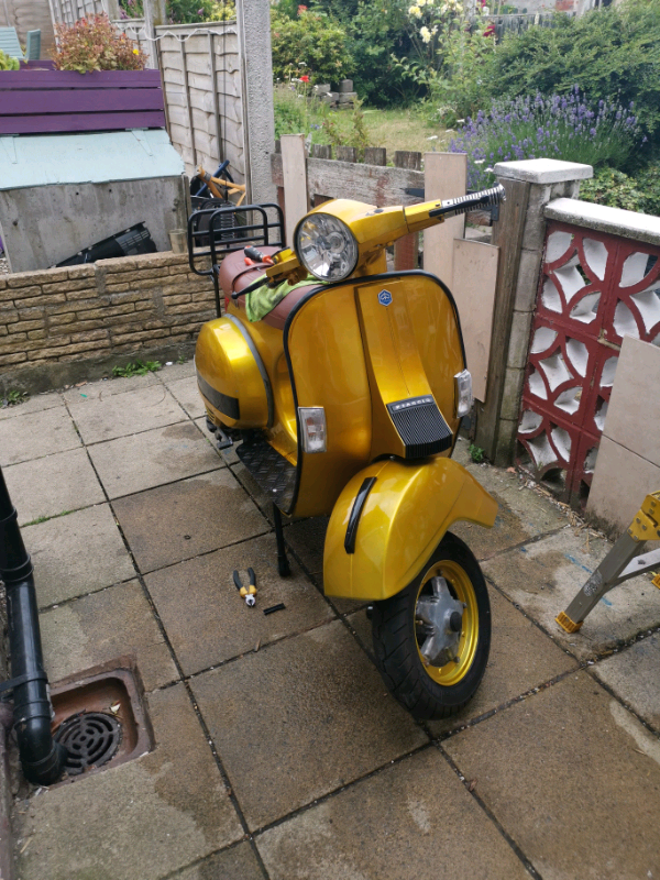2001 vespa px125 (180 kit) | in Chesterfield, Derbyshire | Gumtree