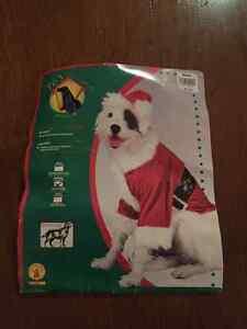 Santa dog costumes