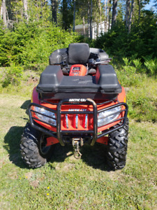 Arctic Cat 4 Wheeler & Trailer