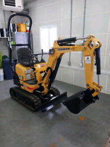 2015 Yanmar SV08-1B  mini excavatrice pelle seulement 13hrs