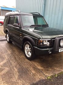 * 2002 52 PLATE LAND ROVER DISCOVERY*