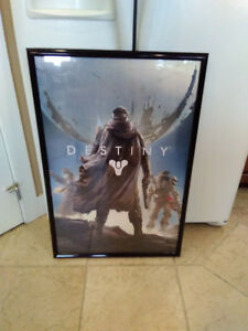 Gaming Destiny Framed Poster