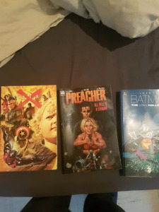 5 graphic novels  $30 for all