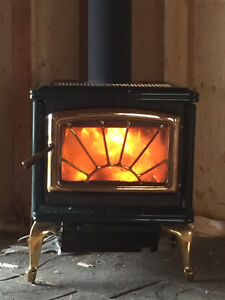 Pacific Energy midsize wood stove