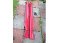 LEON CUPRA R 1.8T Sideskirts pair of them with fixings