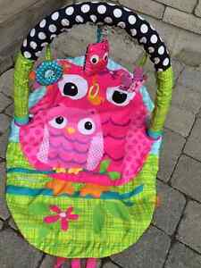Infantino Explore and Store Play Gym Play Mat Owls