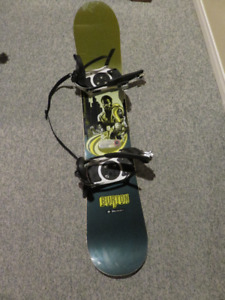 Burton Snowboard with Ride Boots $100 or best offer