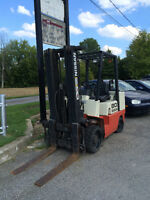 Reconditioned lift truck