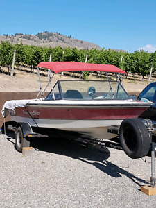 19ft American Skier ADVANCE Competition Ski Boat