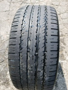 Hankook optimo 235 45 18 94h low profile tire used