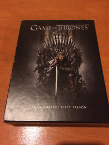 Game of Thrones Season  1 2 3 - DVD BluRay $15 each