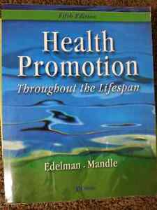 Health Promotion - Throughout the Lifespan