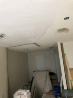 Drywall and finishing