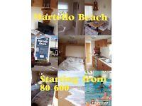Martello beach in Clacton jaywick caravan hire